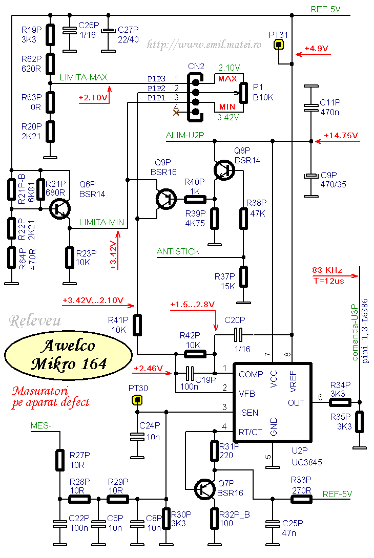 Схема awelco base 5680