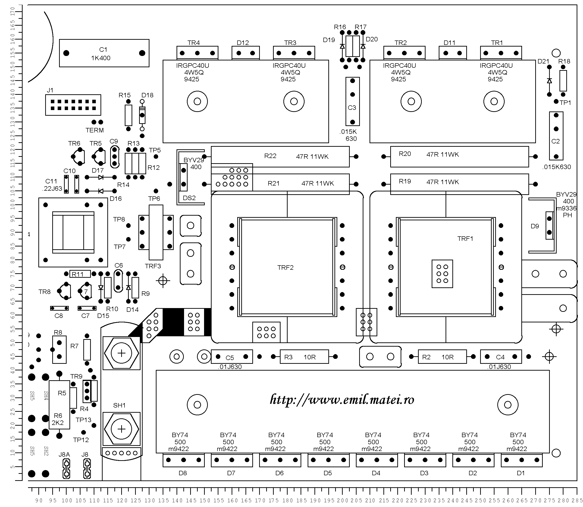 طراحی و ساخت یک اینورتر جوشکاری *** - صفحه 3
