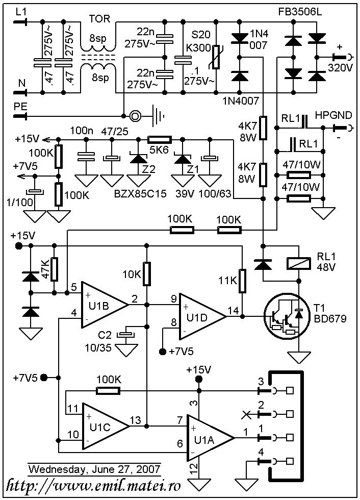 emil matei - invertoare de sudare - circuite de pornire