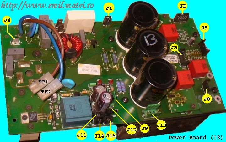 Power Board Cebora TIG SOUND AC/DC 1835/M